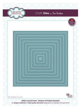 Sue Wilson Designs - Noble Collection - Double Stitched Squares
