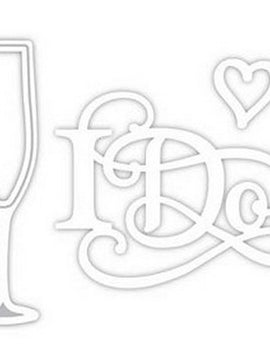 Sue Wilson Designs - Special Ocassion Collection - Champagne Flute