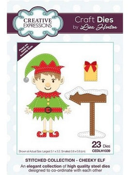 Creative Expressions - Stitched Collection - Cheeky Elf