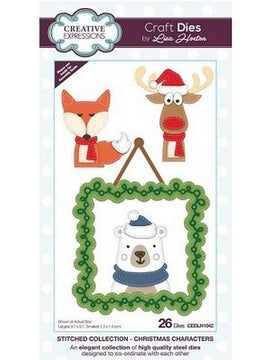 Creative Expressions - Stitched Collection - Christmas Characters