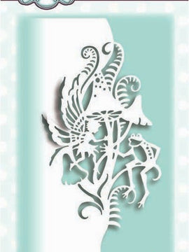 Creative Expressions - Paper Cuts Collection - Toadstoll Dance Edger