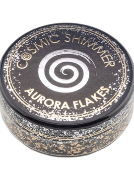Cosmic Shimmer Aurora Flakes 50ml - Golden Onyx