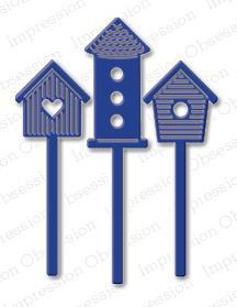 Impression Obsession - Dies - Birdhouse Set