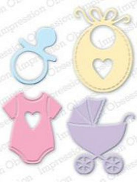 Impression Obsession - Dies - Baby Set