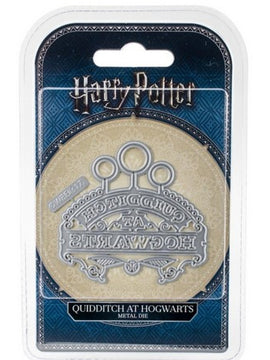 Disney - Cutting Dies - Harry Potter - Quidditch At Hogwarts