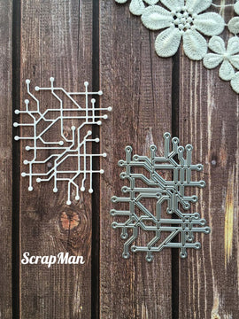 ScrapMan - Dies - Collage Chip