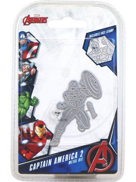 Marvel - Cutting Dies - Avengers - Captain America 2