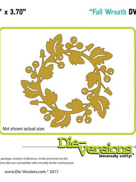 Die-Versions - Dies - Fall Wreath