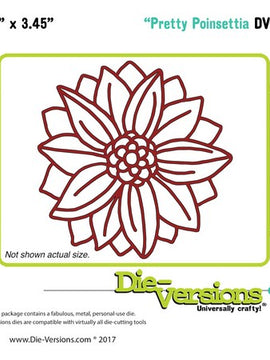 Die-Versions - Dies - Pretty Poinsettia