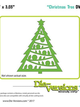 Die-Versions - Dies - Christmas Tree