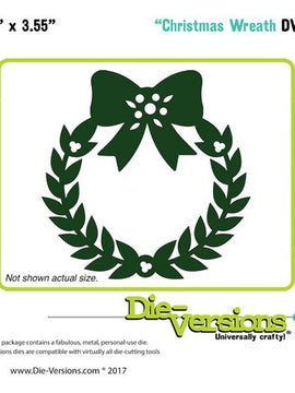 Die-Versions - Dies - Christmas Wreath