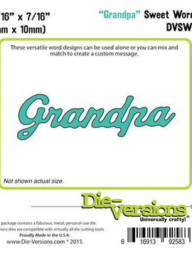 Sweet Wordlets - Grandpa