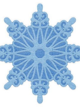 Cheery Lynn Designs - Cut And Emboss Snowflake 2