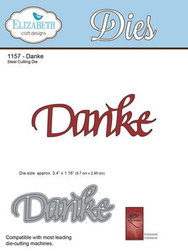 Elizabeth Craft Designs - Danke