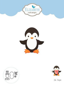 Elizabeth Craft Design - Dies - Penguin