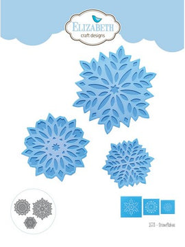 Elizabeth Craft Design - Dies - Snowflakes