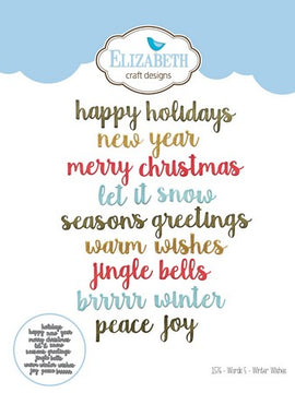 Elizabeth Craft Design - Dies - Winter Wish