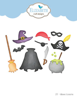 Elizabeth Craft Designs - Dies - Halloween Accessories