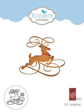 Elizabeth Craft Designs - Dies - Flourished Deer