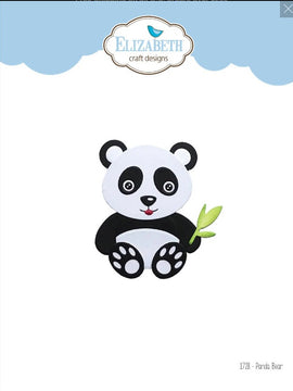 Elizabeth Craft Designs - Dies - Panda Bear