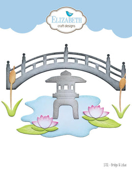 Elizabeth Craft Designs - Dies - Bridge & Lotus