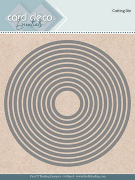 Card Deco Essentials - Dies - Round Nesting Dies