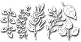 Frantic Stamper - Dies - Assorted Foliage