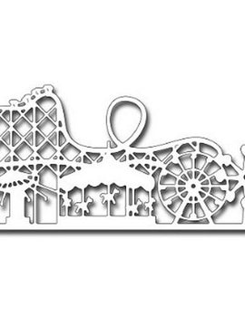 Frantic Stamper - Dies - Amusement Park Skyline