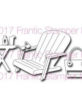 Frantic Stamper - Dies - Adirondack Beach Chair & Accessories
