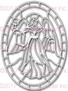 Frantic Stamper - Dies - Angel Stained Glass