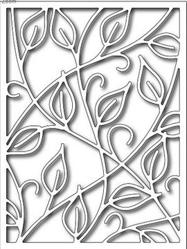 Frantic Stamper - Dies  - Vine Card Panel