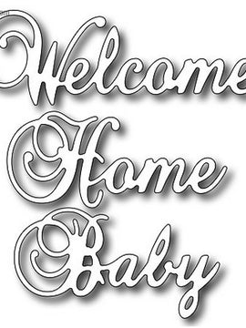 Frantic Stamper - Dies  - Welcome Home Baby