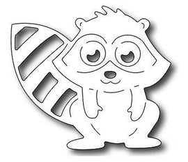 Frantic Stamper - Dies - Adorable Raccoon
