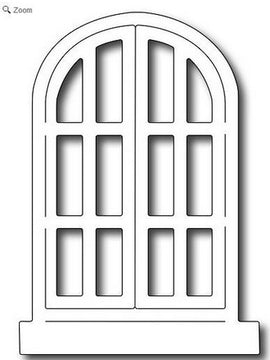 Frantic Stamper - Dies - Arched Window