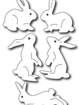 Frantic Stamper - Dies - Assorted Bunnies