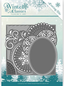 Jeanine's Art - Dies - Winter Classics - Curly Frame