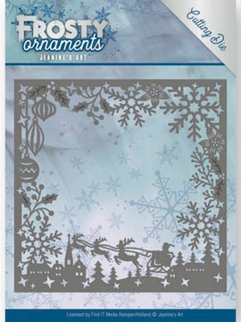 Jeanine's Art - Dies - Frosty Ornaments - Frosty Frame