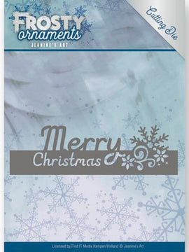 Jeanine's Art - Dies - Frosty Ornaments - Merry Christmas