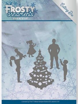 Jeanine's Art - Dies - Frosty Ornaments - Happy Family