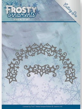 Jeanine's Art - Dies - Frosty Ornaments - Frosty Wreath