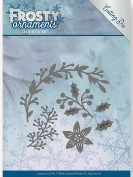 Jeanine's Art - Dies - Frosty Ornaments - Christmas Branches