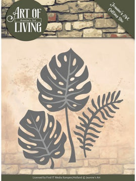 Jeanine's Art - Dies - Art Of Living - Leaves