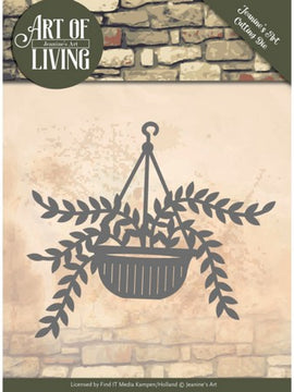 Jeanine's Art - Dies - Art Of Living - Hanging Plant
