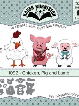 Karen Burniston - Dies - Chicken, Pig & Lamb