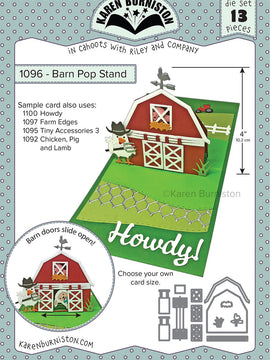Karen Burniston - Dies - Barn Pop Stand