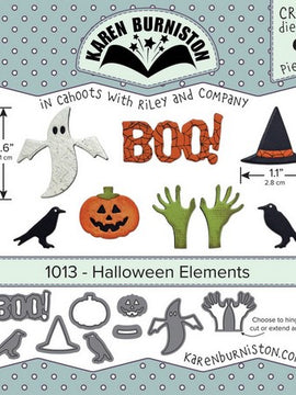 Karen Burniston - Dies - Halloween Elements