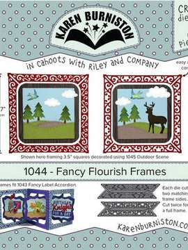 Karen Burniston - Dies - Fancy Flourish Frames