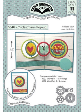Karen Burniston - Dies - Circle Charm Pop Up