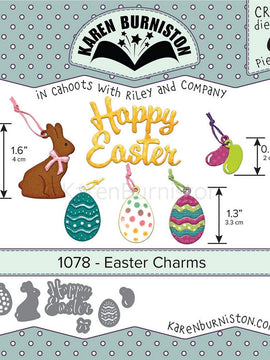 Karen Burniston - Dies - Easter Charms