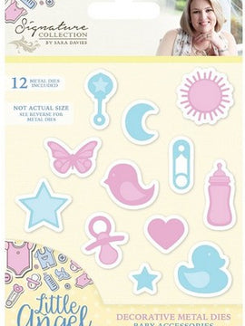 Crafter's Companion - Little Angel Dies - Baby Accessories